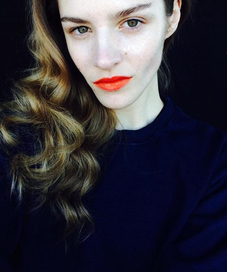 Asia Piwka na backstage sesji dla Vogue Italia, sesja w Nowym Jorku, fot. Billy Kidd