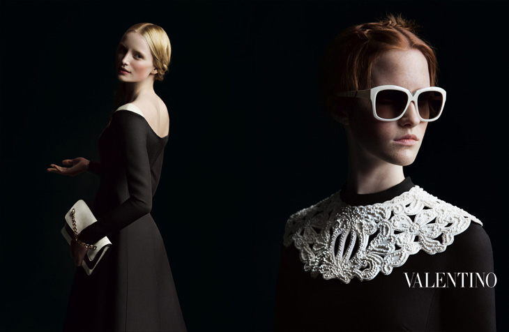 Magda Jasek/Free Models w kampanii Valentino FW 2013/14
