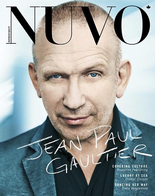 Jean Paul Gaultier na okładce Nuvo