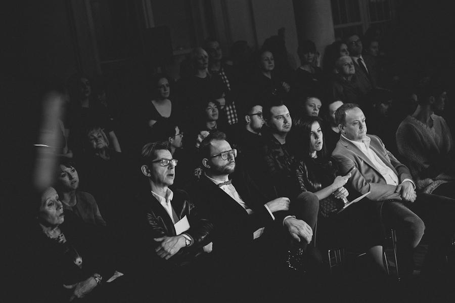 Michał Zaczyński, Autor tekstu, w pierwszym rzędzie, po środku/fot. Artur Cieślakowski dla DYKF.pl