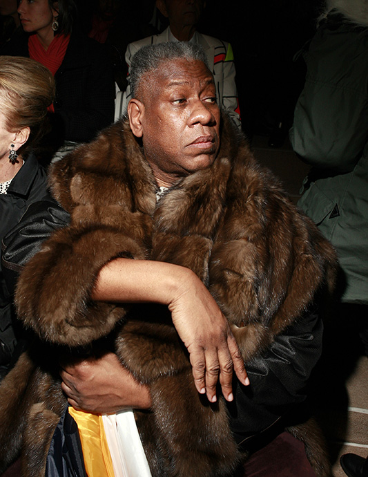 André Leon Talley/fot. Agencja FORUM
