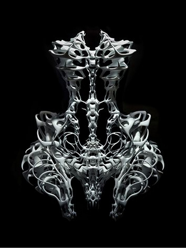 Iris van Herpen Skeleton/fot. Bart Oomes