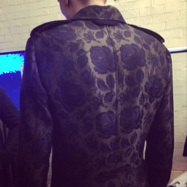 Alexander McQueen/ Instagram @suzymenkesvogue