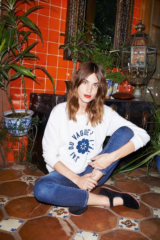 Alexa Chung for AG/mat. prasowe AG Jeans