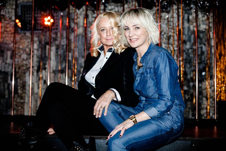 Beata Furst i Anna Puślecka/fot. Eliza Krakówka dla DYKF