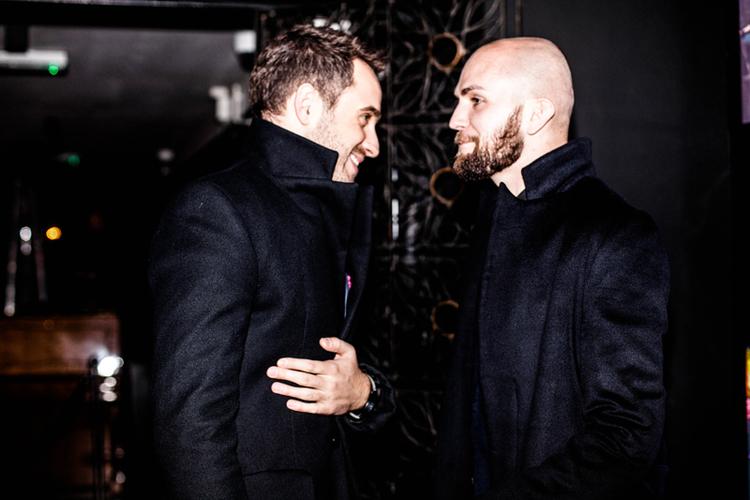 Michał Borowik i Tomasz-Marcin Wrona/fot. Eliza Krakówka dla DYKF