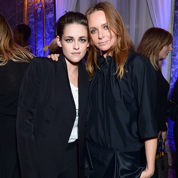 Kristen Stewart i Stella McCartney/Instagram: @stellamccartney