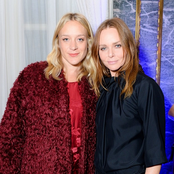 Chloë Sevigny i Stella McCartney/Instagram: @stellamccartney
