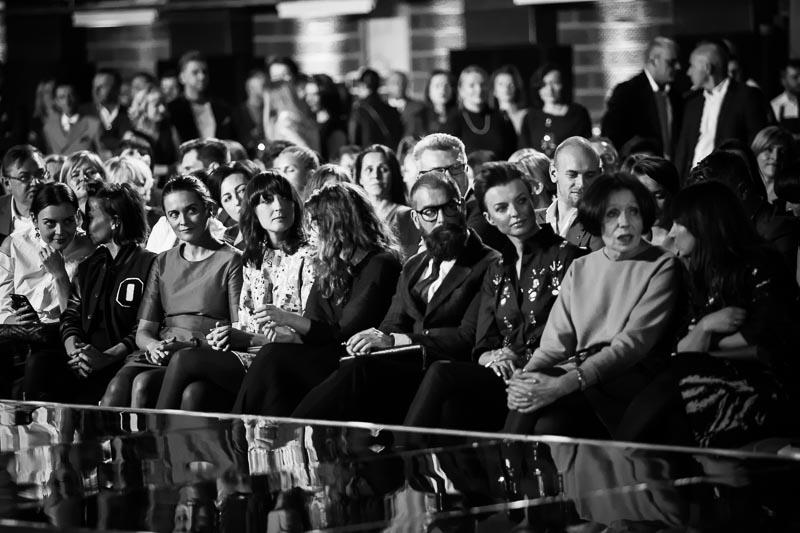 Wojtek Rostowski, Katarzyna Sokołowska, Joanna Bojańczyk - członkowie jury/fot. Maciej Stankiewicz dla DYKF