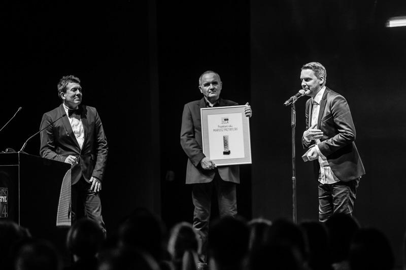 Jacek Szmidt, Maciej Brzozowski i Mariusz Przybylski/fot. Maciej Stankiewicz dla DYKF