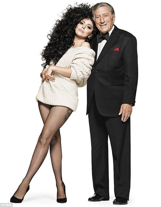 Lady Gaga i Tony Bennettw kampanii H&M
