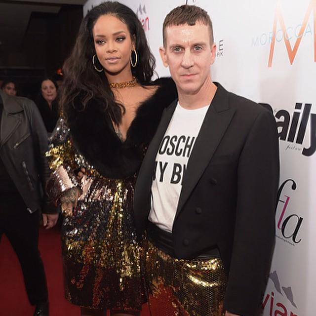 Rihanna i Jeremy Scott/Instagram: @itsjeremyscott