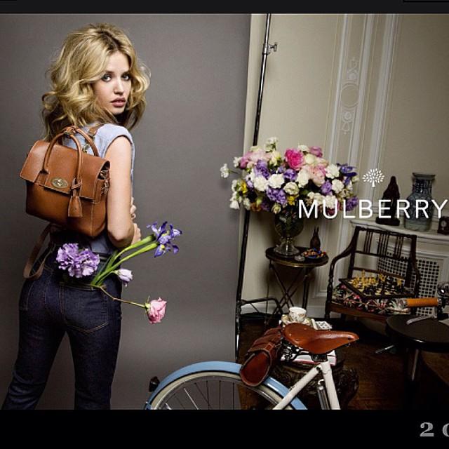 Georgia May Jagger w kampanii Mulberry na sezon wiosna/lato 2015/Instagram: @thelovemagazine