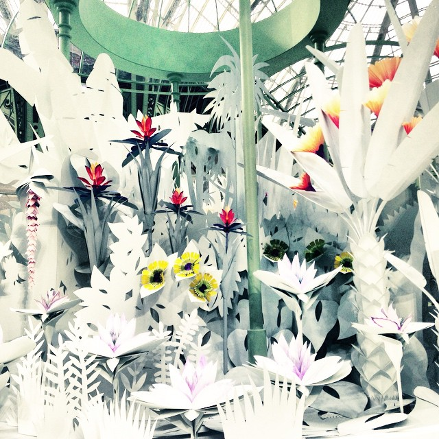Kwieciste origami/Instagram: @thelovemagazine