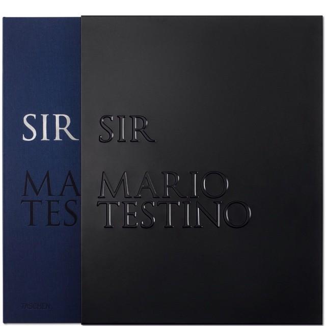 """Okładka książki """"SIR"""" Mario Testino/Instagram: @mariotestino"""
