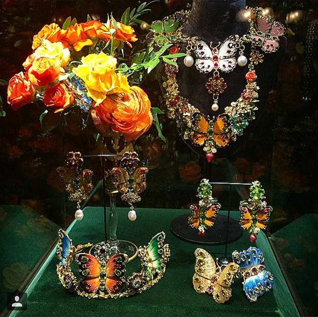 Alta Gioielleria od Dolce&Gabbana/Instagram: @suzymekesvogue