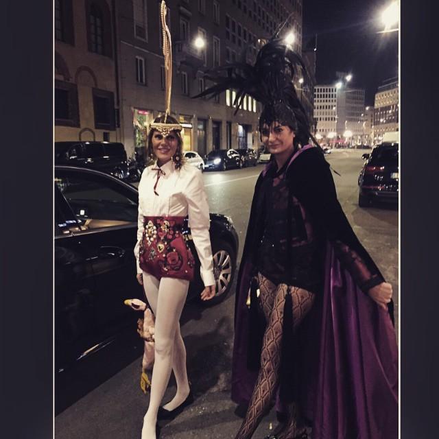 Anna Dello Russo i Giovanna Battaglia/Instagram: @anna_dello_russo