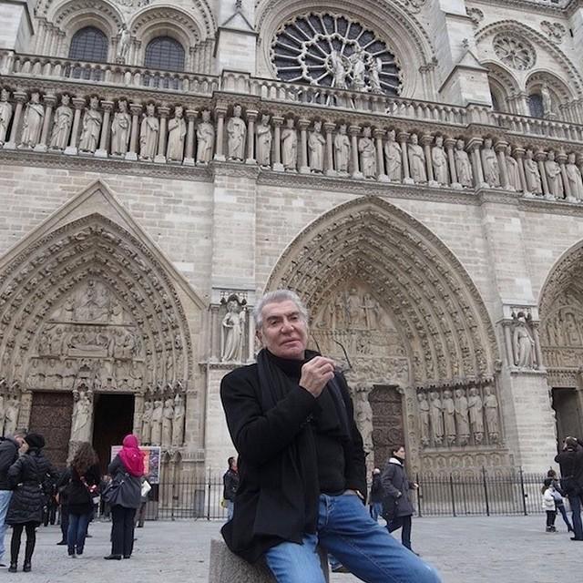 Roberto Cavalli w Paryżu/Instagram: @robertocavalli