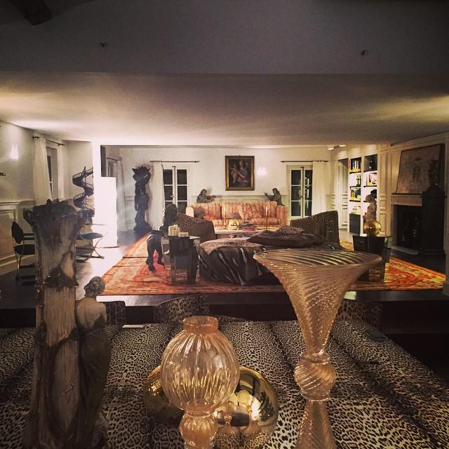 Paryski apartament Roberto/Instagram: @robertocavalli