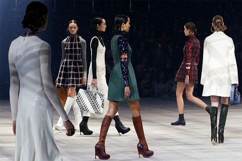 Pokaz Dior pre-fall 2015, Tokyo/fot. Agencja Forum