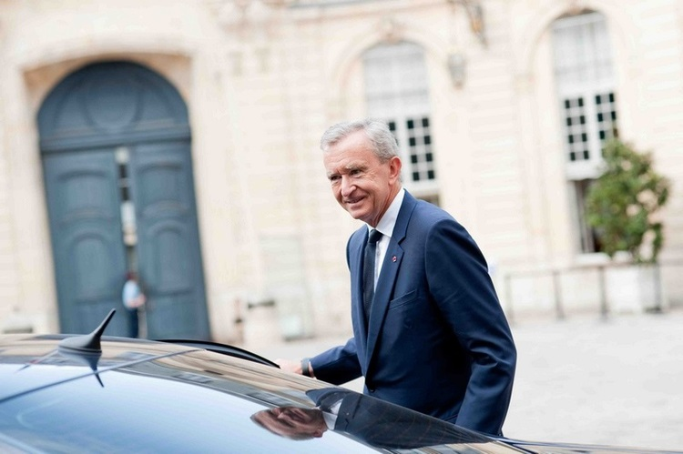 Bernard Arnault/fot. Agencja FORUM
