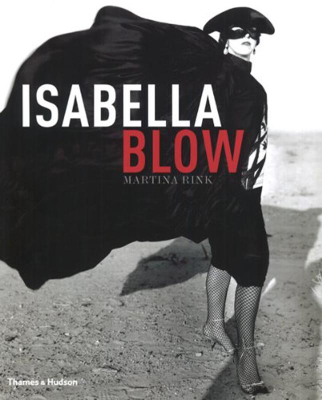 Okładka biografii Isabelli Blow autorstwa Martina Rinka
