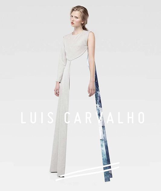Daniela Hanganu w kampanii  Luis'a Carvalho na sezon wiosna-lato 2014