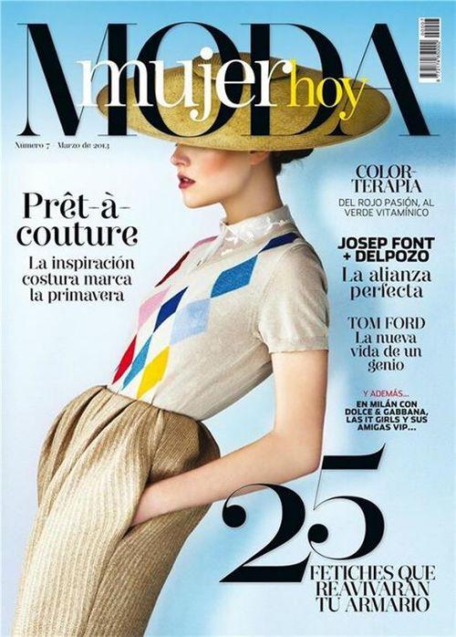 Kolekcja Delpozo wiosna/lato 2013 na okładce Moda Mujer Hoy/mat. prasowe/Moda Mujer Hoy