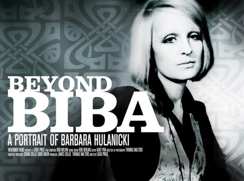 "Plakat reklamujący film "" Beyond Biba: A Portrait of Barbara Hulanicki"" /mat.prasowe November Films"