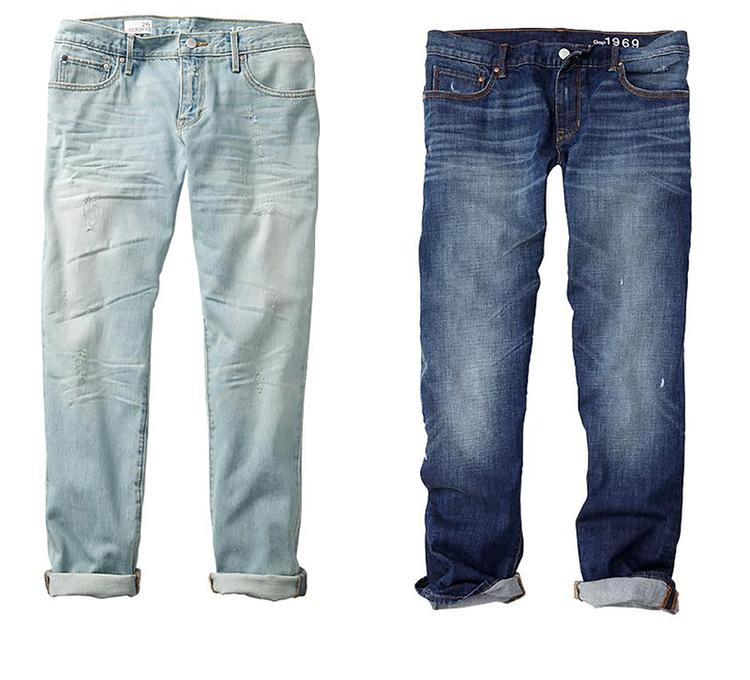 Boyfriend jeans/mat. promocyjne GAP