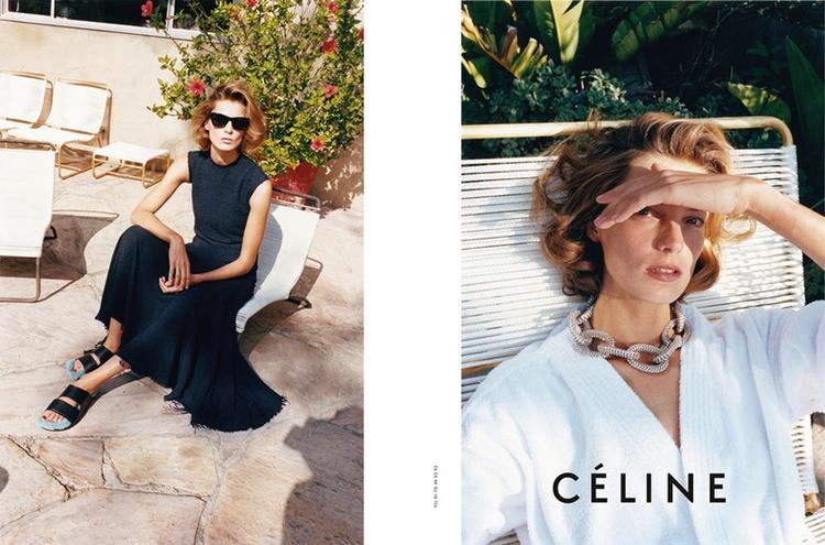 Celine wiosna-lato 2011/mat. promocyjne Celine