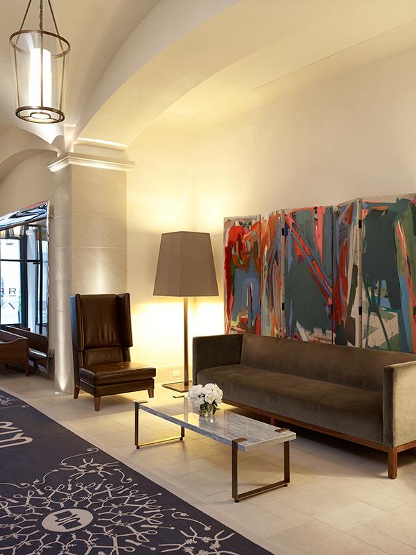 Lobby w hotelu Rafinery/mat.prasowe Rafinery Hotel
