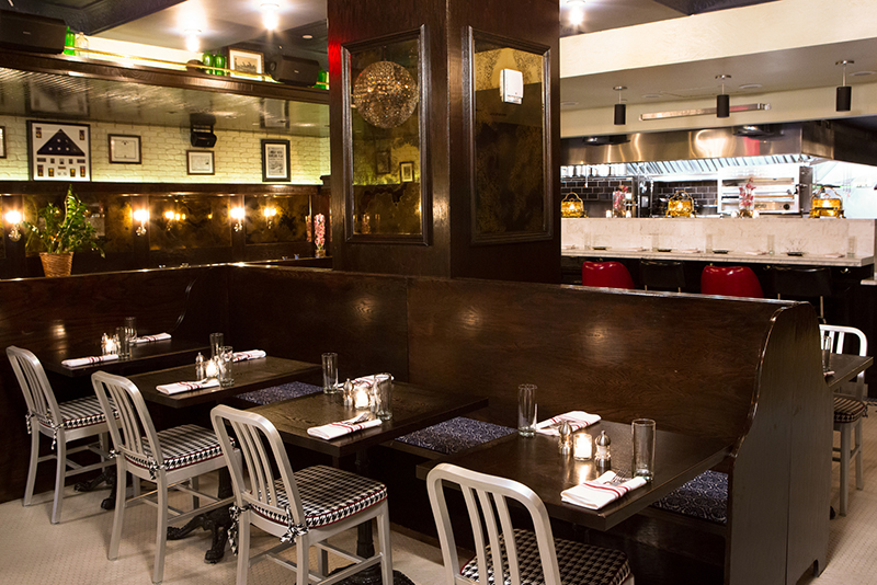 Restauracja Parker&Quinn w hotelu Rafinery/mat.prasowe Rafinery Hotel