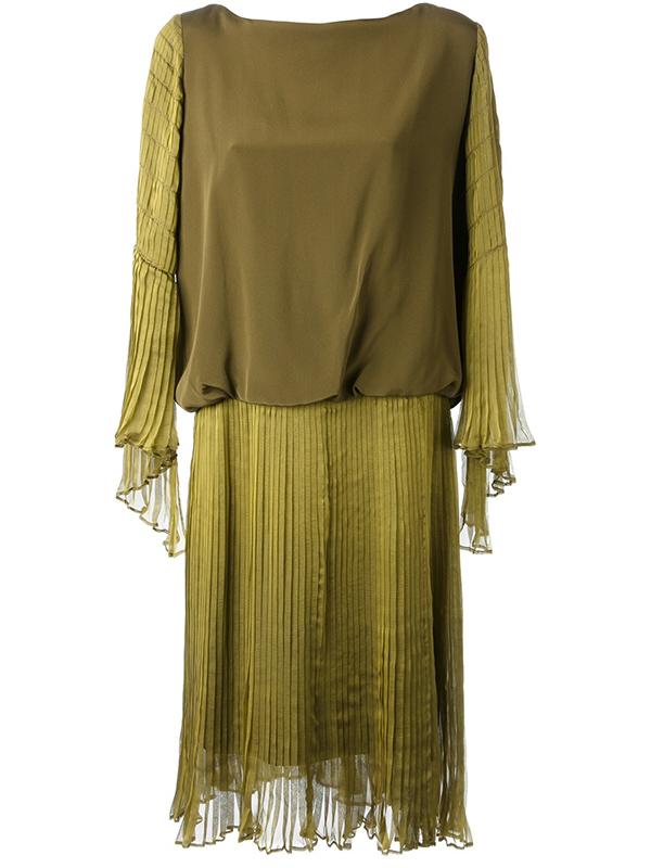 Sukienka vintage Lanvin z lat 70.