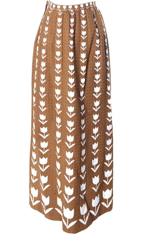 Spódnica vintage Givenchy z lat 60.