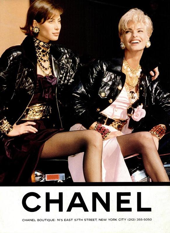 Kampania Chanel z lat 90.