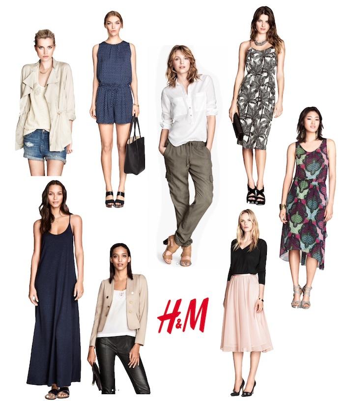 Kapsułowa kolekcja H&M na sezon wiosna/lato 2014