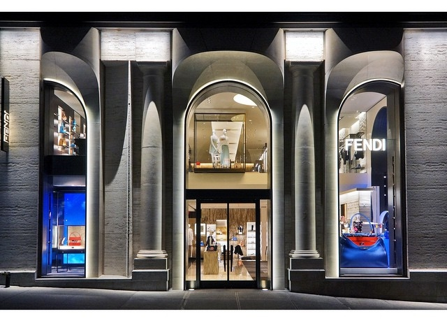 Butik Fendi na 598 Madison Avenue/Instagram: @fendi