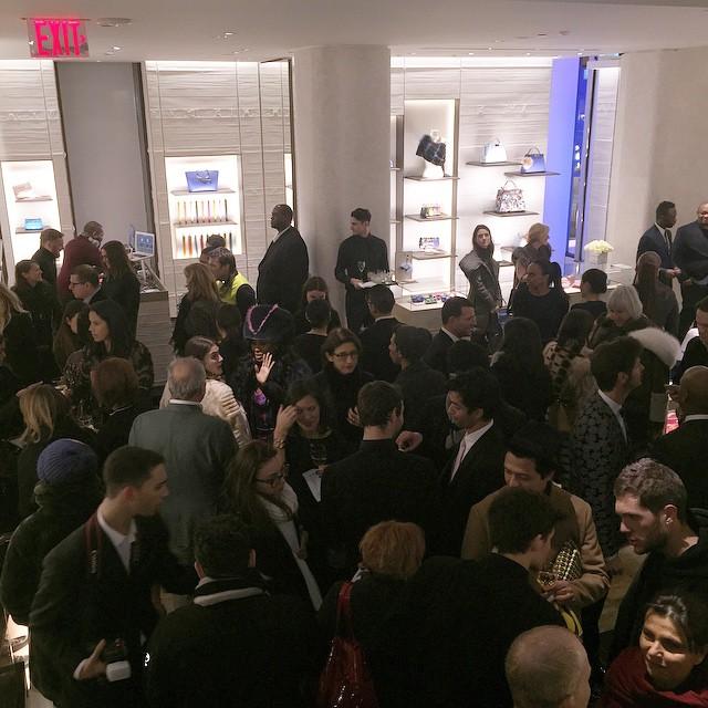 Goście zebrani na charytatywnym evencie Fendi/Instagram: @fendi
