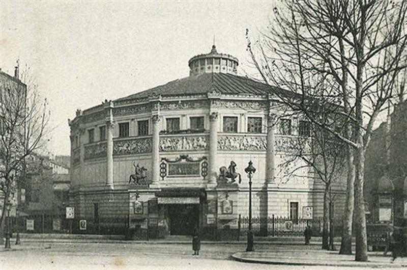 Paryski cyrk zimowy na początku XX wieku