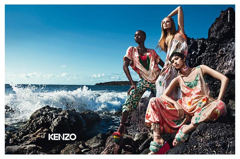 Kampania Kenzo na sezon wiosna/lato 2011