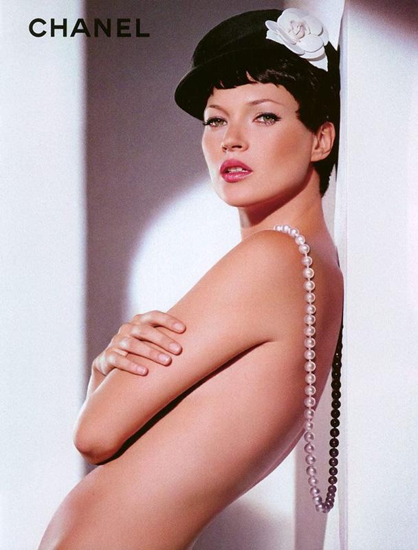 Kate Moss w kampanii perfum Chanel