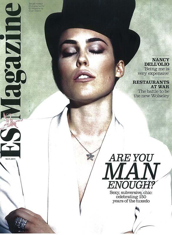 Tallulah Harlech na okładce ES Magazine