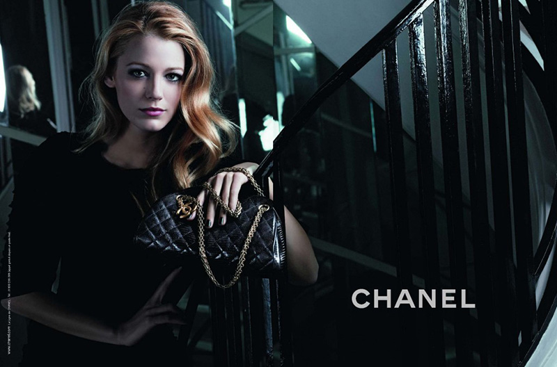 Blake Lively w kampanii Chanel