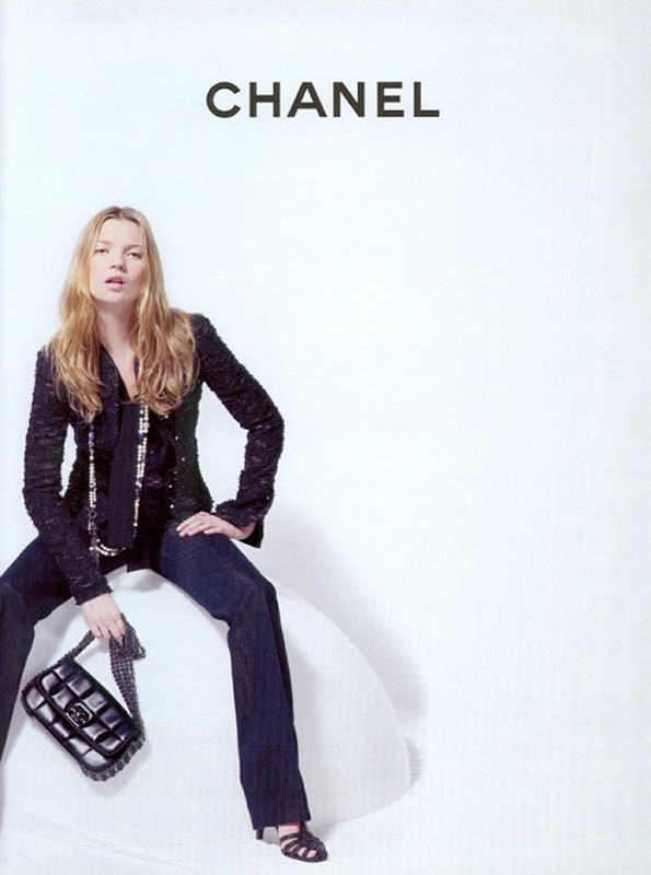 Kate Moss w kampanii Chanel