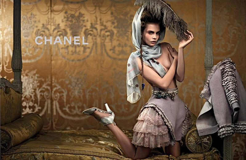 Cara Delevingne w kampanii Chanel Cruise 2013