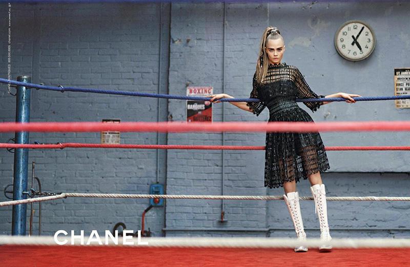 Cara Delevingne w kampanii Chanel jesień-zima2014/15