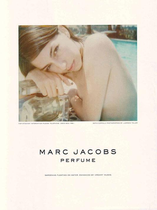 Sofia Coppola w kampanii perfum Marca Jacobsa