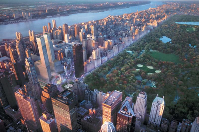 Panorama Nowego Jorku ostatniego piętra hotelu Mandarin Oriental/mat.prasowe Mandarin Oriental
