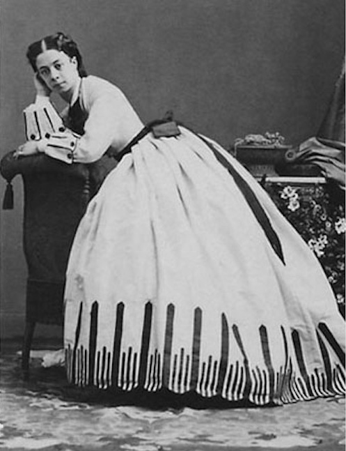 Księżna Paulina Metternich, 1865 rok